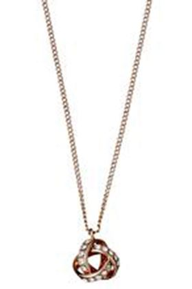 Picture of Pilgrim Katelyn Rose Gold Crystal Necklace