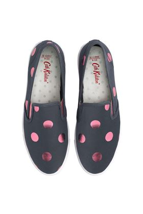 Picture of Cath Kidston Button Spot Smart Classic Slip On