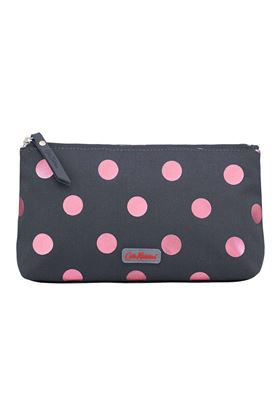 Picture of Cath Kidston Button Spot Poly Zip Make Up Bag
