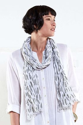 Picture of Nomads Printed Silhouette Scarf