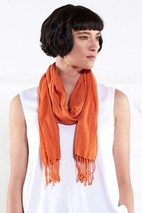 Picture of Nomads Plain Fringed Scarf
