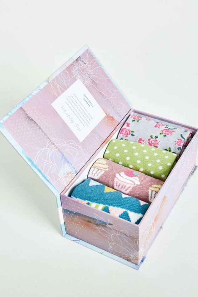 Picture of Thought Garden Party Sock Gift Box