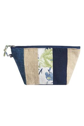 Picture of Earth Squared Patchwork Makeup Bag