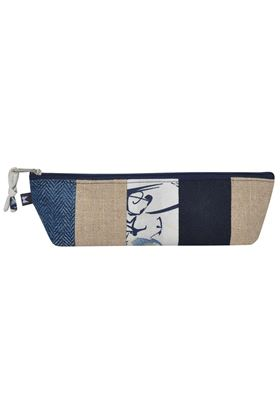 Picture of Earth Squared Patchwork Triangle Pencil Case