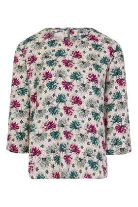 Picture of Mistral Sketchbook Flowers Print Top