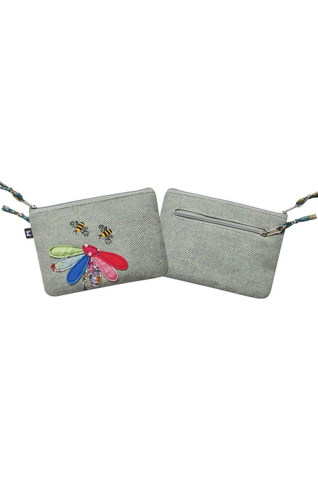 Picture of Earth Squared Herringbone Bunting Juliet Purse