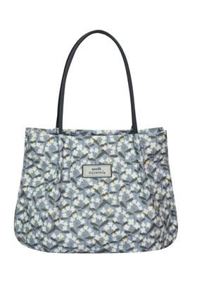 Picture of Earth Squared Spring Flower Oil Cloth Freya Bag