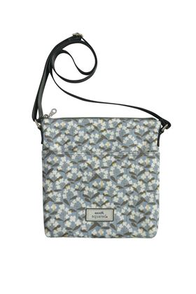 Picture of Earth Squared Spring Flower Oil Cloth Messenger Bag