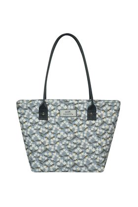 Picture of Earth Squared Spring Flower Oil Cloth Tote