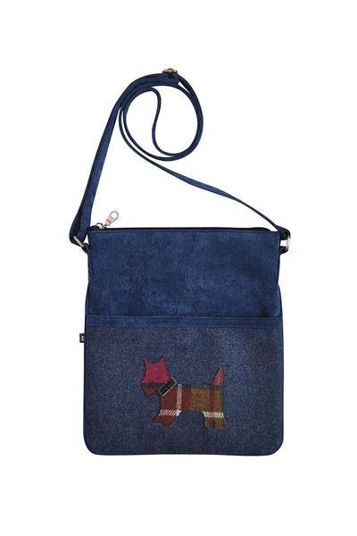 Picture of Earth Squared Scottie Dog Applique Block Bag