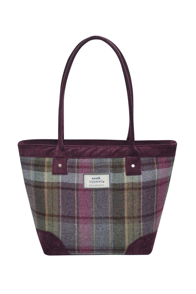 Picture of Earth Squared Heather Tweed Tote Bag
