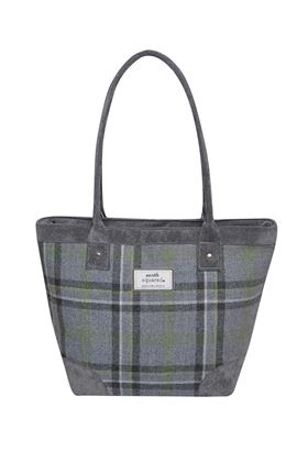 Picture of Earth Squared Storm Grey Tweed Tote Bag