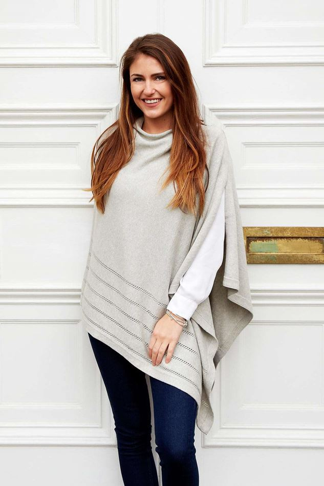 Picture of Earth Squared Cloud Knitted Cotton Wrap