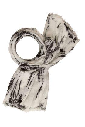 Picture of Muted Tones Silk/Cotton Shibori Scarf