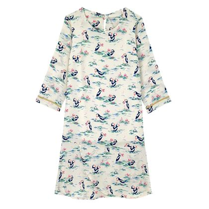 Picture of Cath Kidston Puffins Poly Crepe dress
