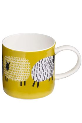 Picture of Ulster Weavers Straight sided Mug Dotty Sheep