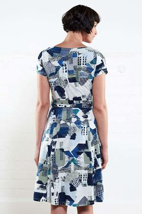 Picture of Nomads Short Sleeve Flare Dress