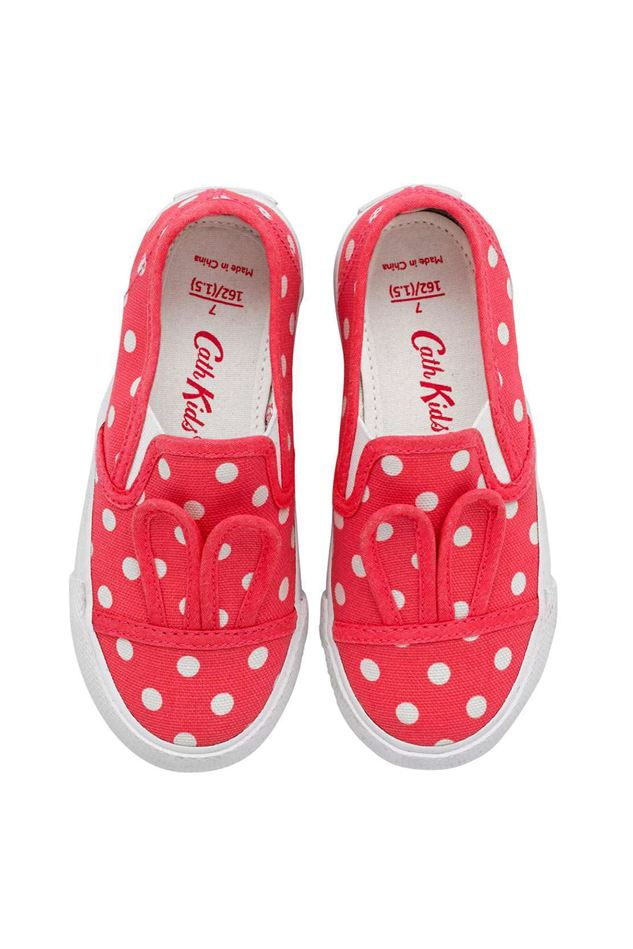 Picture of Cath Kidston Little Spot Bunny Slip On Pump
