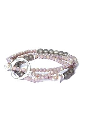 Picture of Envy Wrap Bracelet with Silver hoop