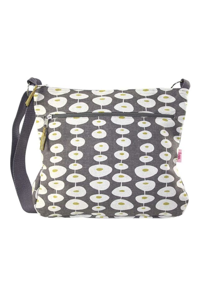 Picture of Lua Large Oval Link Messenger Bag
