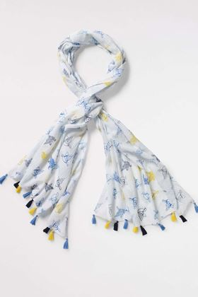 Picture of White Stuff Origami Flying Bird Scarf