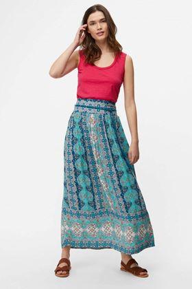 Picture of White Stuff Mesopotamia Maxi Crinkle Skirt