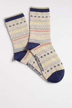 Picture of White Stuff Fairisle Stripe Sock