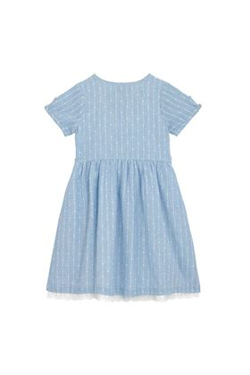 Picture of Cath Kidston Kids Pintuck Dress with Broderie Anglaise