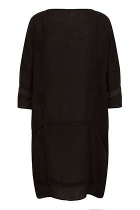 Picture of Muted Tones Linen Tunic Dress
