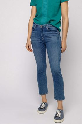 Picture of White Stuff Ash Straight Crop Jeans