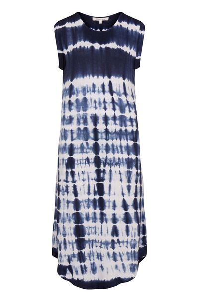 Picture of Muted Tones Shibori  Sleeveless Jersey Dress