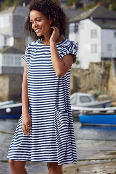 Picture of Seasalt Short Sleeved Mill Pool Dress