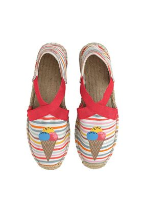 Picture of Cath Kidston Tresco Striped Elasticated Espadrilles