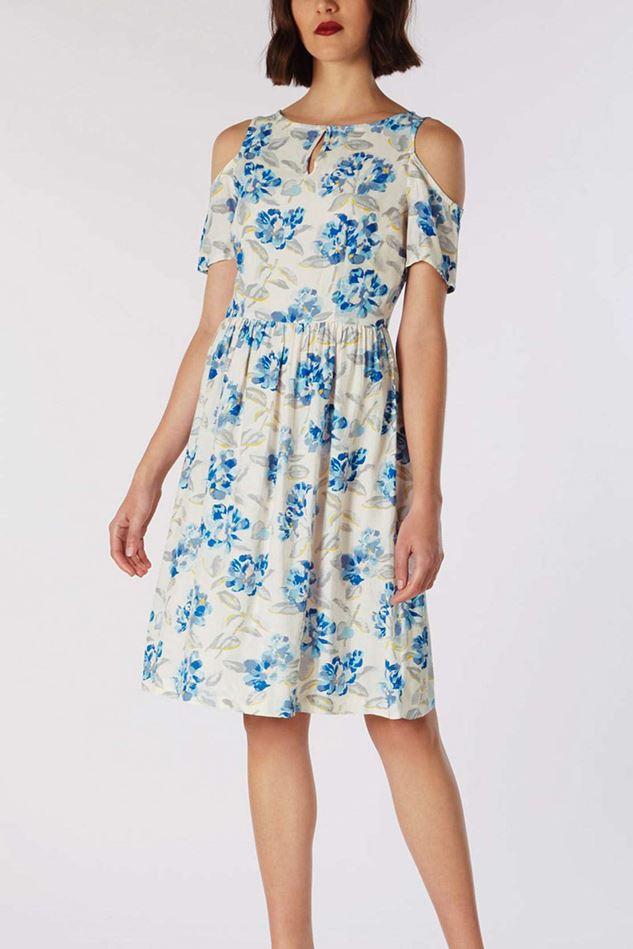 Picture of Cath Kidston Spring Bloom Cold Shoulder Dress