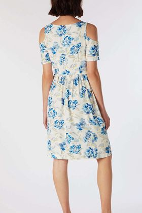 Picture of Cath Kidston Spring Bloom Cold Shoulder Dress