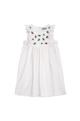 Picture of Cath Kidston Kids Embroidered Dress with Frill