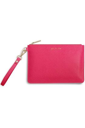 Picture of Katie Loxton Secret Message Pouch - Pop Fiz Clink