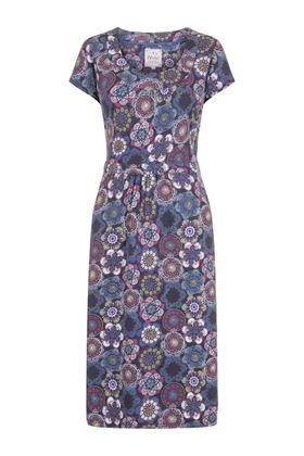 Picture of Mistral Dotty Circle Print Dress