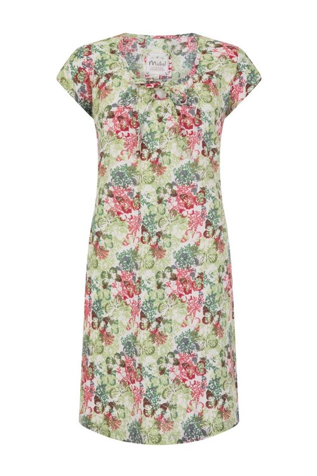 Picture of MISTRAL TROPICAL BUTTERFLY TUNIC
