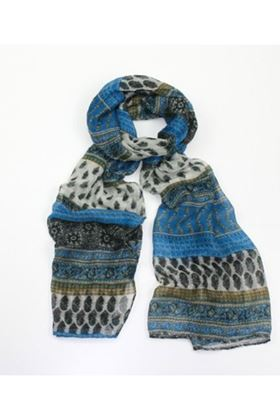 Picture of Poppy Ethnic Print Scarf