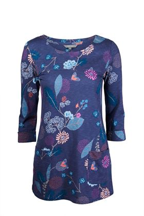 Picture of Lily & Me Whitfield Twilight Floral Tunic