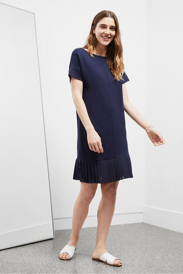 Picture of Great Plains Joelle Jersey Pleated Hem Dress