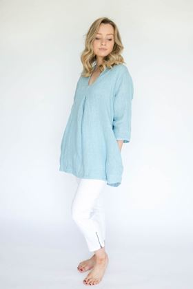 Picture of Luella Eloise Linen Tunic