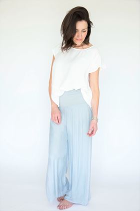 Picture of Inis Collection Silk Mix Trousers