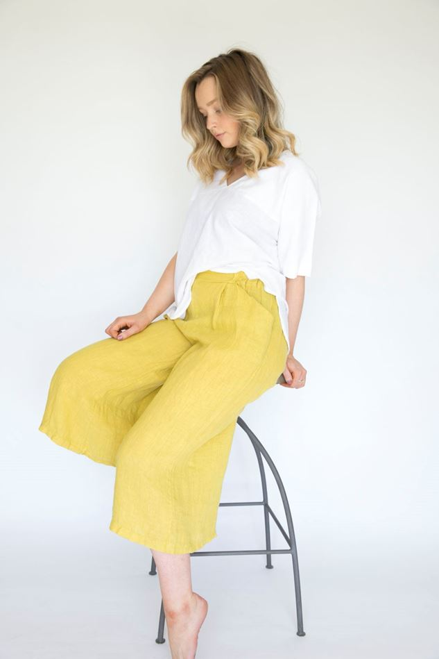 Picture of Inis Collection Linen Culottes