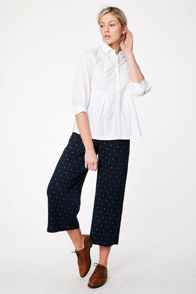 Picture of Thought Ditsy Ikat Culottes