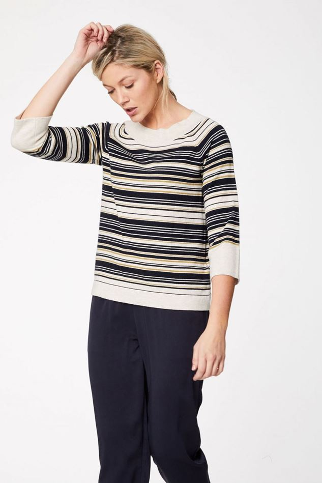 Picture of Thought Hartz Striped Jumper
