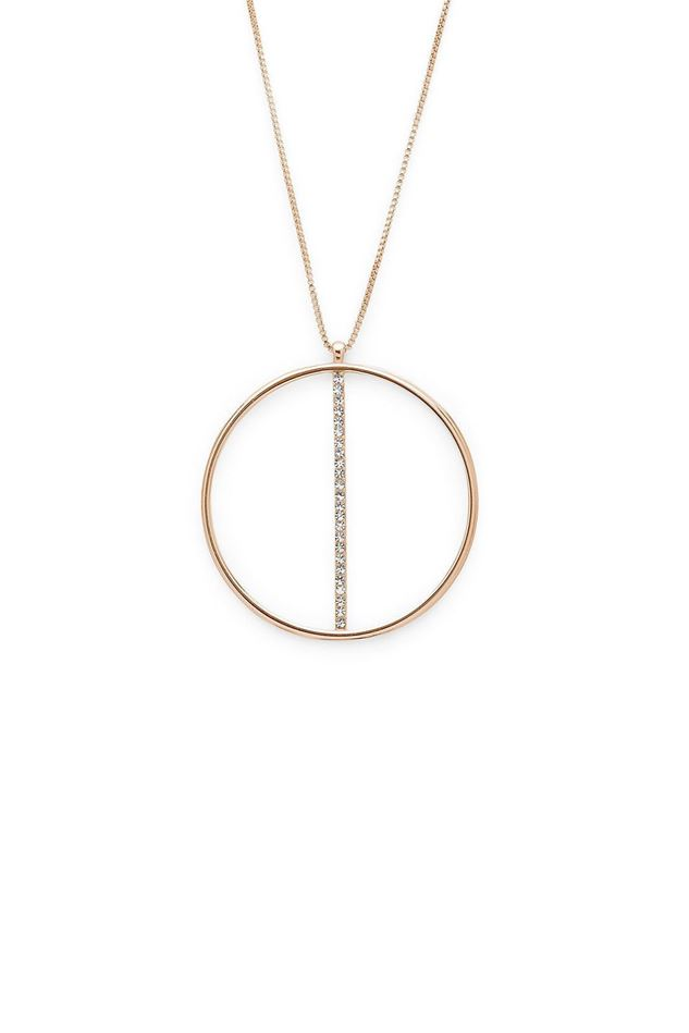 Picture of Pilgrim Kama Rose Gold Plated Necklace