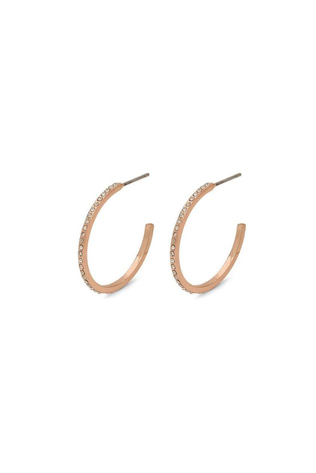 Picture of Pilgrim Large Roberta Rose Gold Plated Earrings