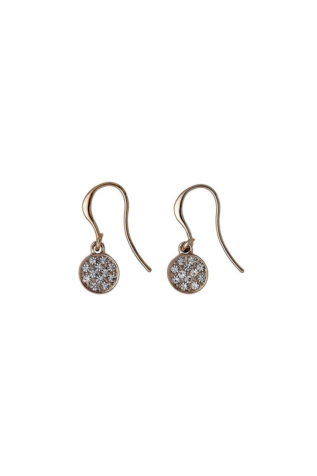 Picture of Pilgrim Grace Rose Gold Plated Dangle Earrings